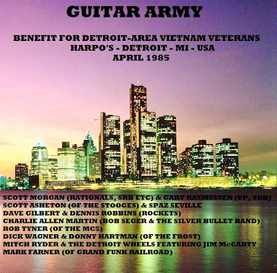 Guitar Army Benefit For Detroit-Area Vietnam Veterans Harpo\'S, Detroit, MI - April 1985 Broadcast On WLLZ, Detroit