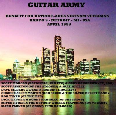 Guitar Army Benefit For Detroit-Area Vietnam Veterans Harpo\'S, Detroit, MI - April 1985 Broadcast On WLLZ, Detroit