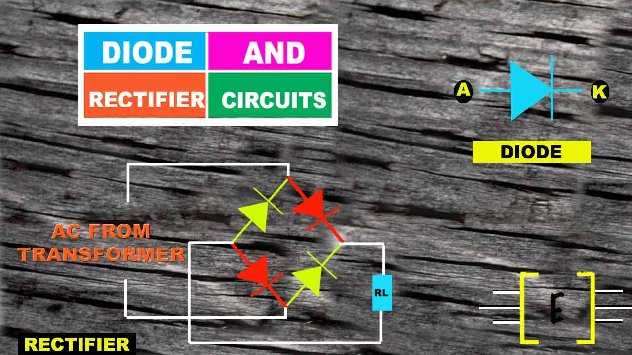 Diode And Rectifier Circuits Electronics Inside What Do Diodes In A Circuit You Know