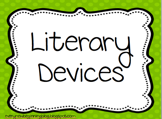 Every New Beginning: Figurative Language/Literary Devices Freebie