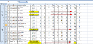 Hasil Subtotal Database Excel