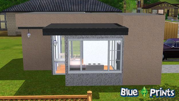 The Mini Minimalist Sims 3 Blue Prints