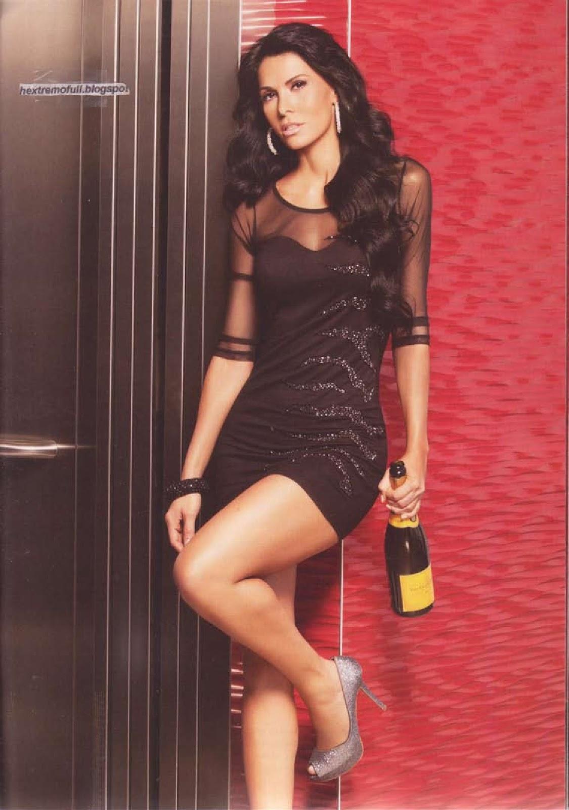 PHOTOSHOOT Tanya Vazquez - Revista H para hombres - YouTube