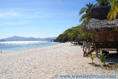 Malcapuya Island beachfront