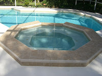 Gunite pool repair-repaired gunite pool