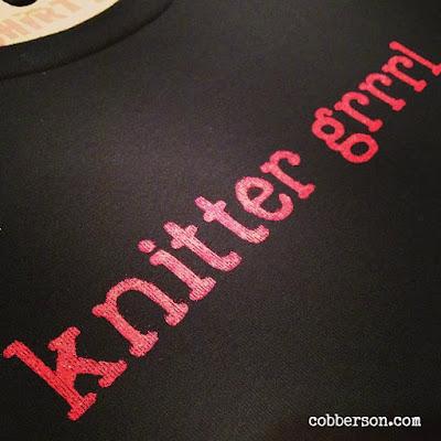 cobberson knitter grrrl