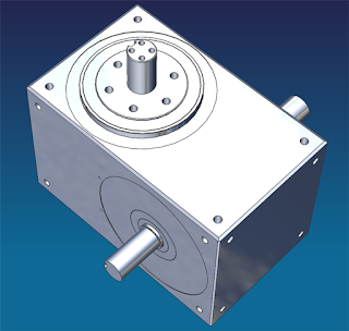 3D CAD Rotary indexer