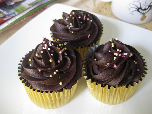 Cara Membuat CupCake Coklat