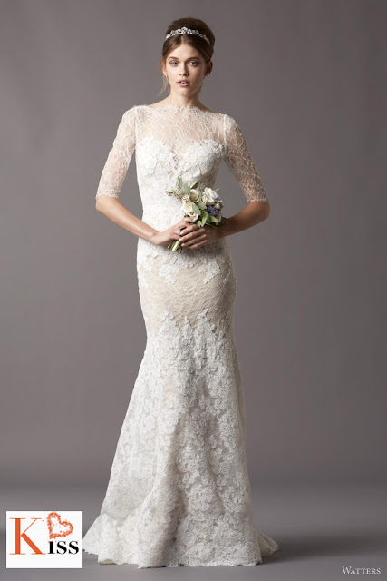 Watters 2013 Spring Lace Mermaid Wedding Dresses