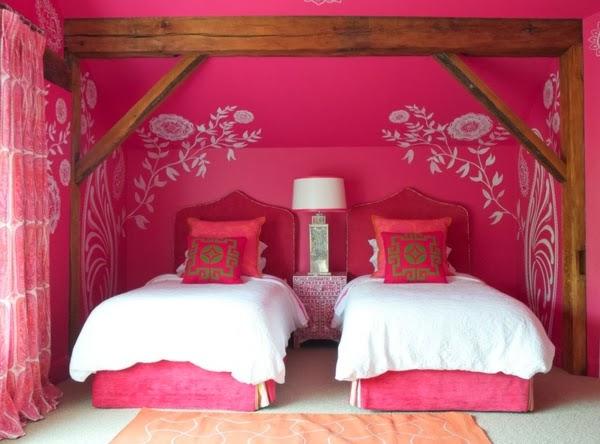 Dormitorios fucsia para ni as dormitorios colores y estilos for Cuartos para ninas y adolescentes