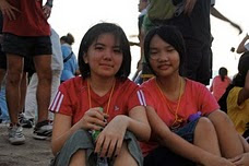 Katherine and I on Broga Hill