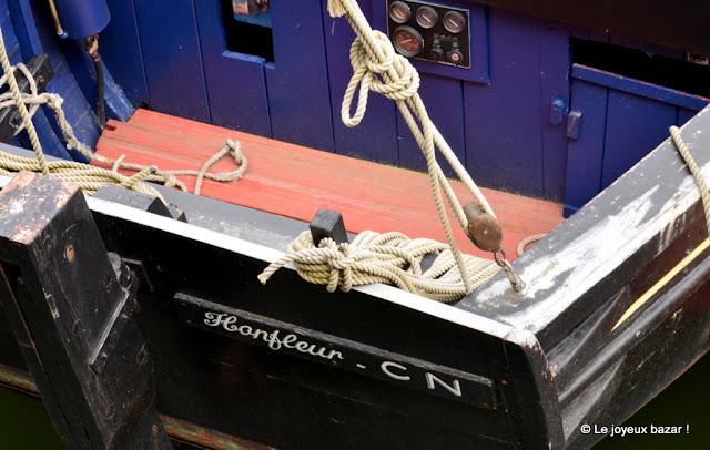 Honfleur - bateau