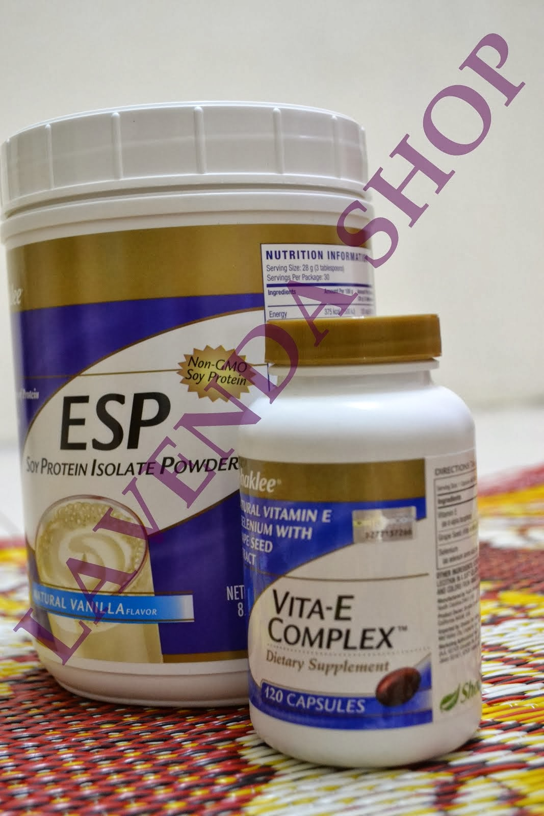 SET 1 (ESP + VITA-E COMPLEX)