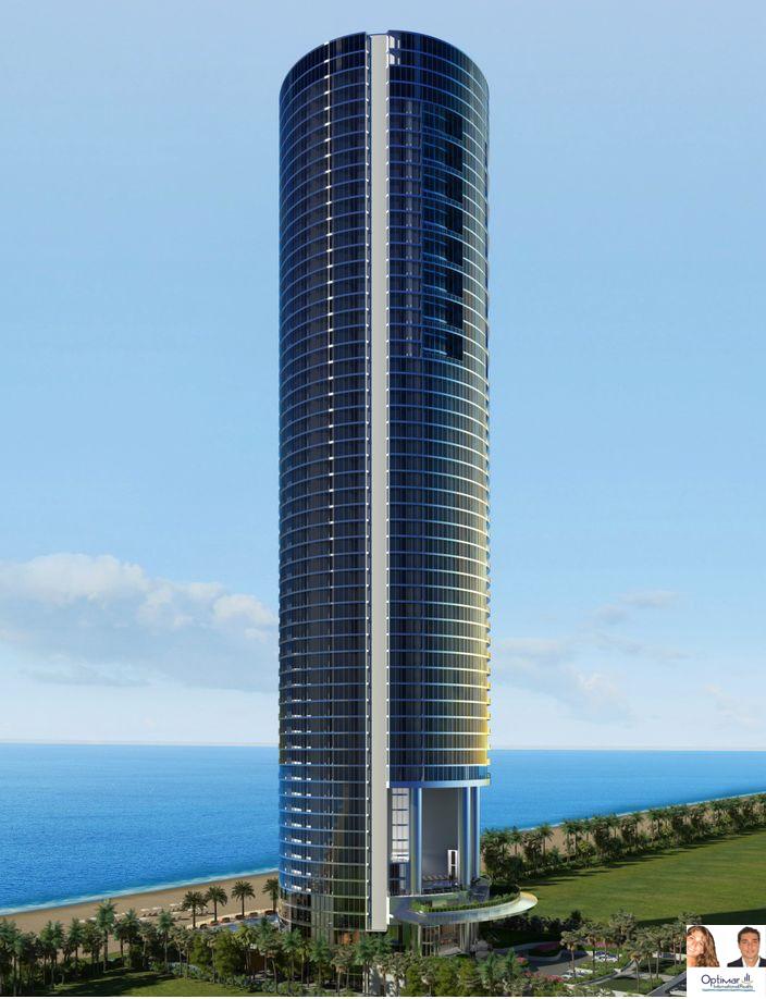 Luxury Buildings Miami Beach Porsche Design Tower Sunny