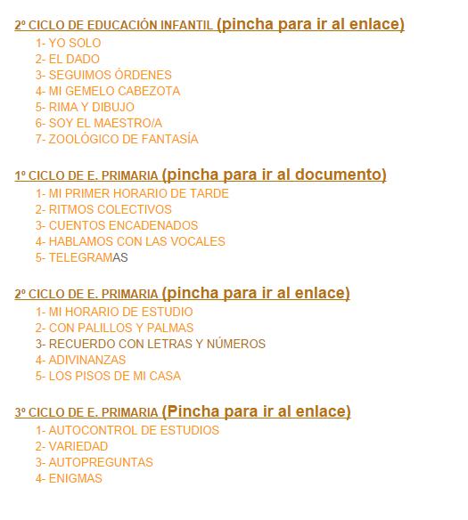 http://orientacionlospedroches.blogspot.com.es/2011/11/tecnicas-de-estudio-desde-infantil-toda.html