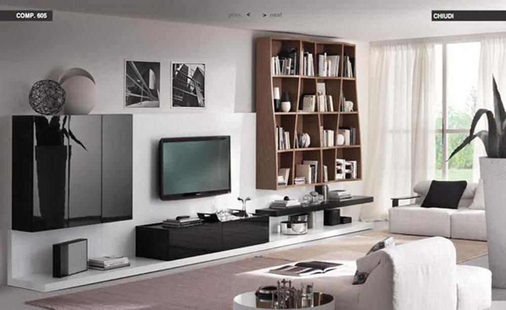 Moderno apartamento loft con dise os en contraste for Apartamentos disenos modernos