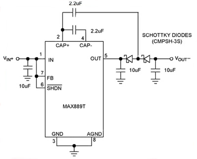 Generating Negative Output from Positive Input Voltage