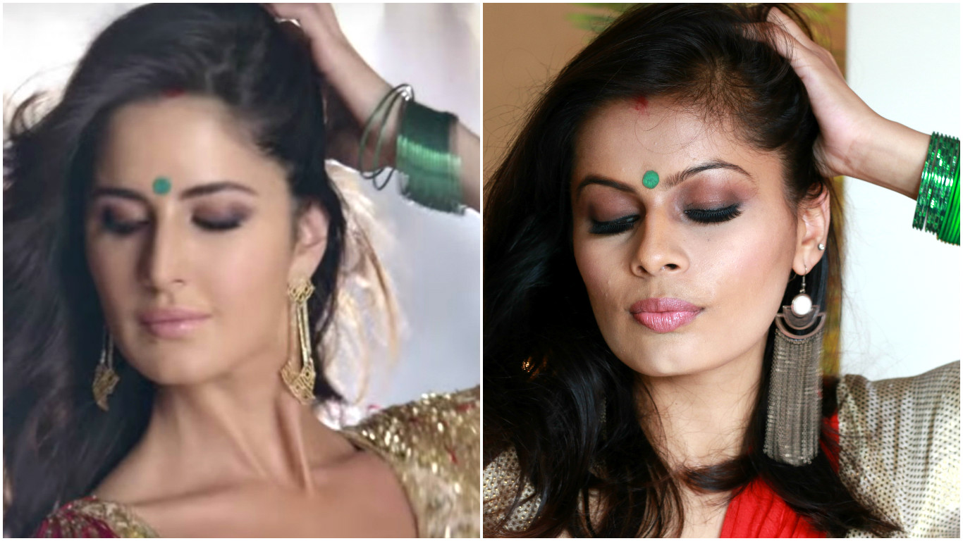 Kala chashma katrina kaif inspired makeup look baar baar dekho anyways here in this post i am sharing one of my celebrity inspired look which i posted on my channel a month ago i did recreation of katrina kaifs kaala baditri Image collections