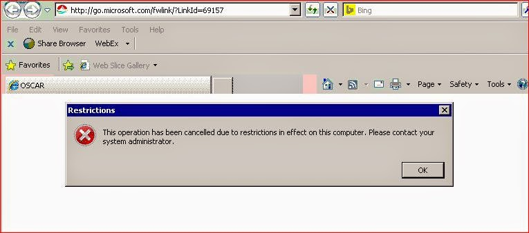 ConfigMgr, Tips and Tricks: \u201cThis operation has been cancelled due