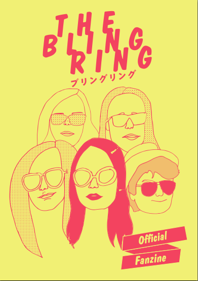 THE BLING RING OFFICIAL FANZINE 在庫なし
