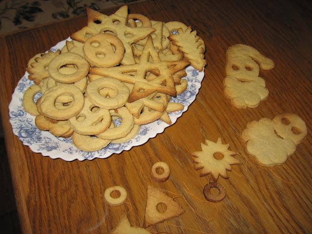 choinkowe ciasteczka