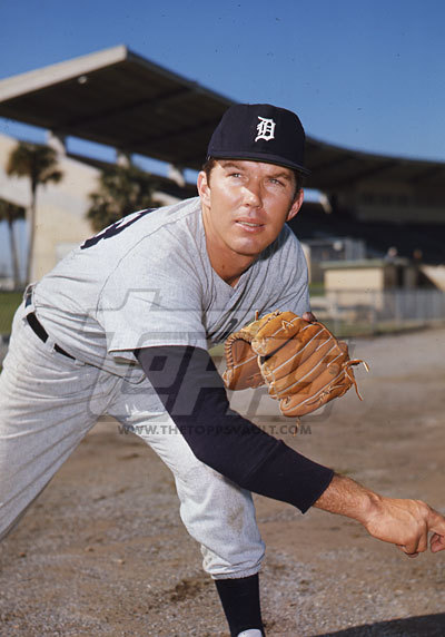 Daryl Patterson 1971 Tigers (PIRATES 1974)
