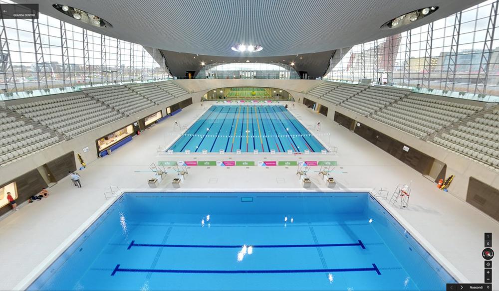 Amedeo liberatoscioli london aquatics centre parco olimpico londra - Piscina olimpiadi ...