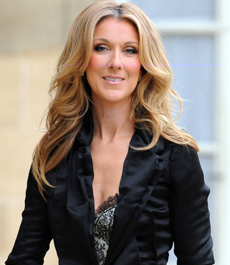 Canadian Celebrities Hairstyle - Celine Dion