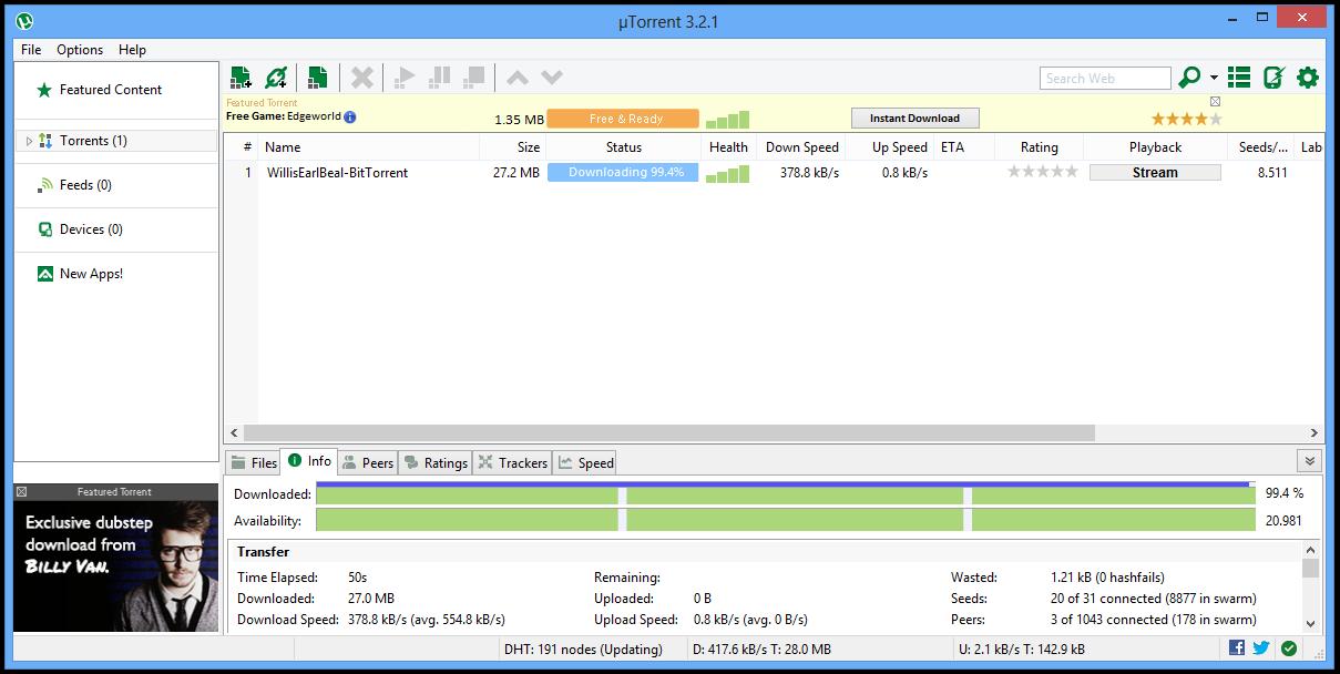 تحميل تورنت µTorrent