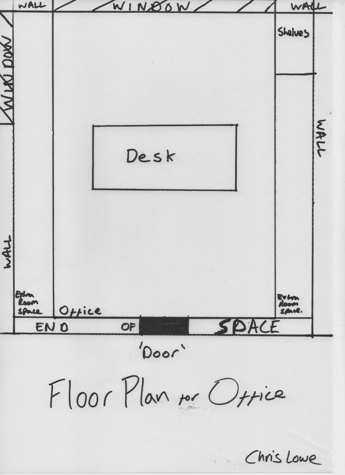 Chris lowe 39 s creative media blog for Office floor plan samples