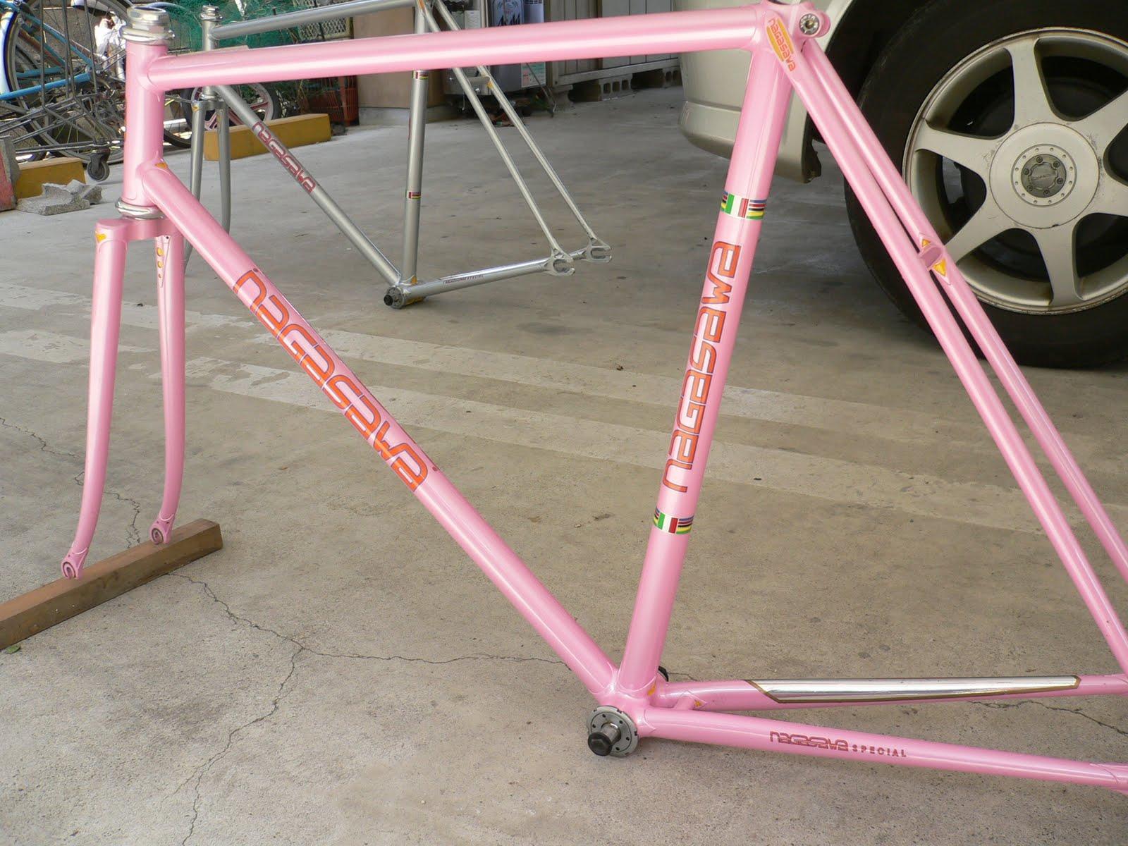 njs keirin track bike &frame for sell: NAGASAWA njs frame set