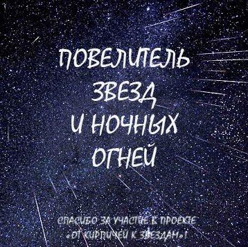 """Мои итоги СП """"От кирпичей к звездам"""""""