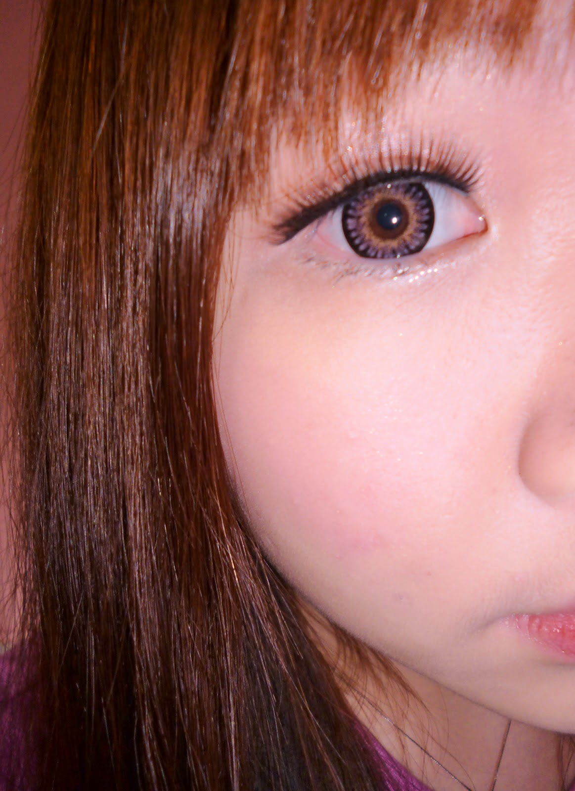 Super Barbie Bambi PINK Contact Lens Review