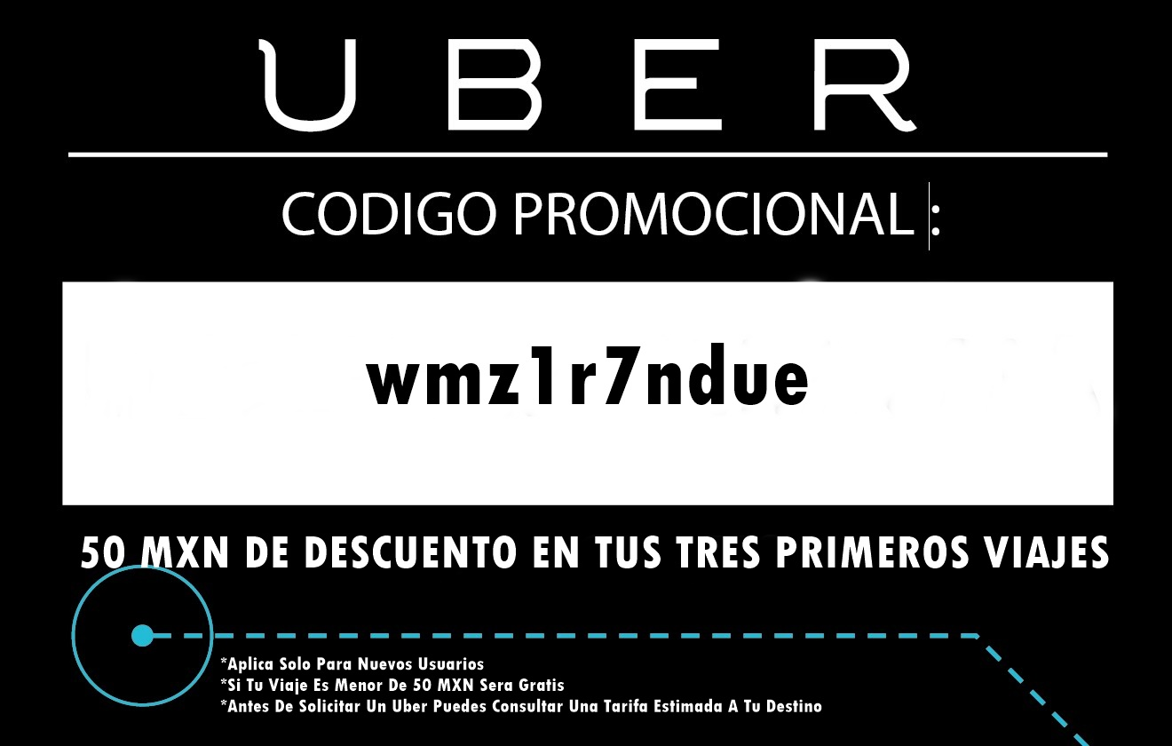 Codigo Promocional Uber