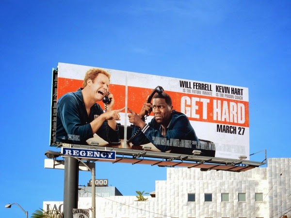 Get Hard film billboard