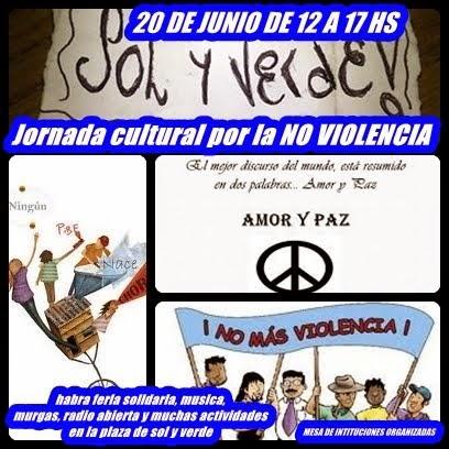 JORNADA CULTURAL X LA NO VIOLENCIA