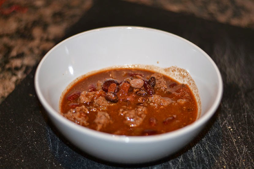 Beef Chili - Cordier Events made
