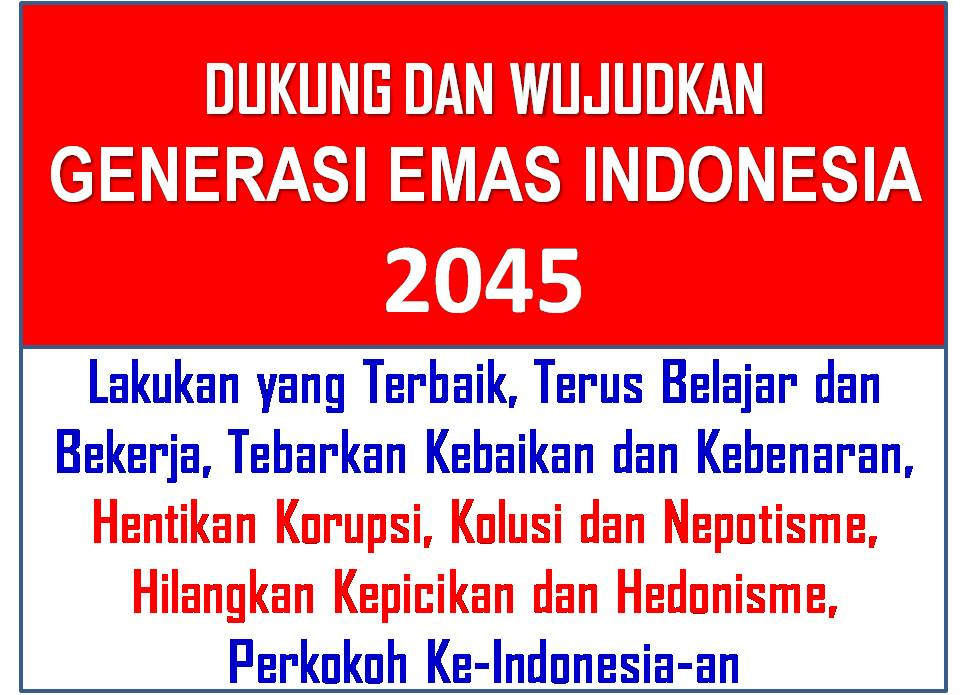 Dinamika: Generasi Emas Indonesia 2045 Dinamika - blogger973 × 695Search by image Generasi Emas Indonesia 2045