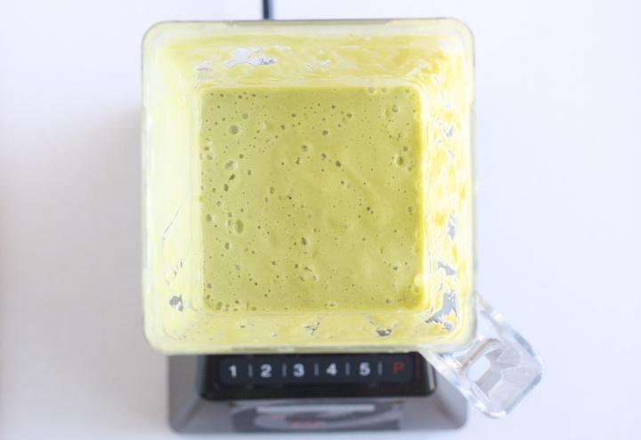 Avocado Green Tea Matcha Smoothie recipe by SeasonWithSpice.com