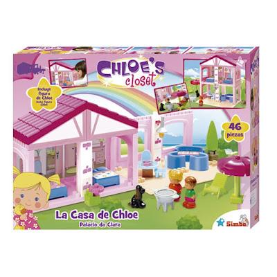 TOYS : JUGUETES - La magia de Chloe  La Casa de Chloe | Playset + Figura Producto Oficial Serie Television 2015 | Simba | Edad: +3 años Comprar en Amazon España