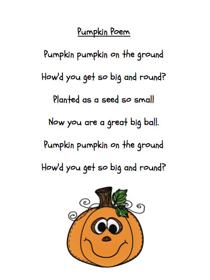 pumpkin halloween madness grade onederful - Cute Halloween Poem