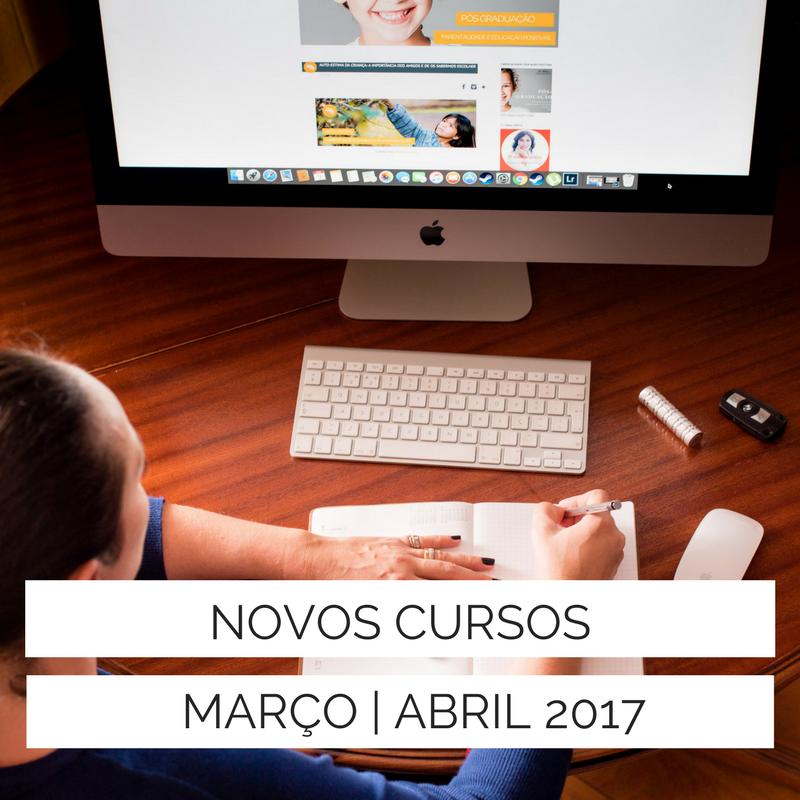 NOVOS CURSOS MAR/ABR LISBOA