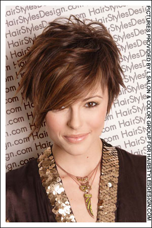 Short Layered Haircuts - Hairstyles 2011: Short Layered Haircuts