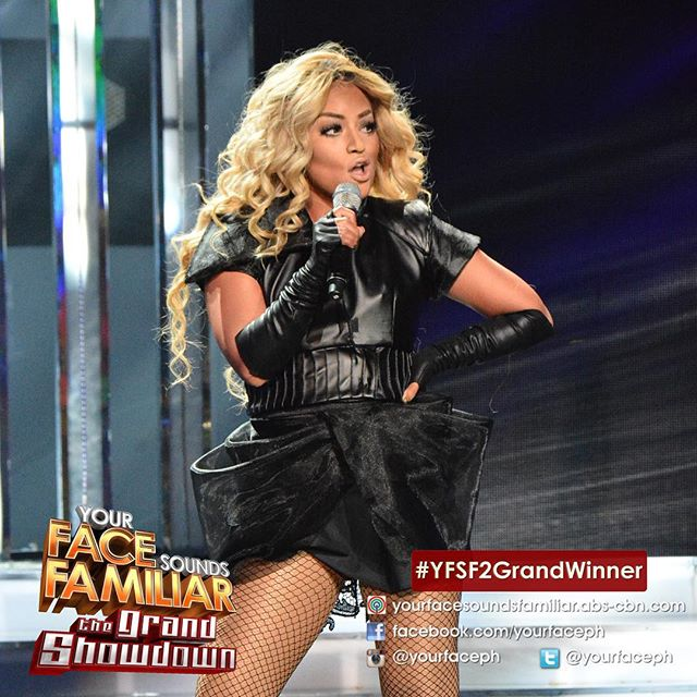 YFSF - Denise Laurel as Beyonce (IG yourfaceph)