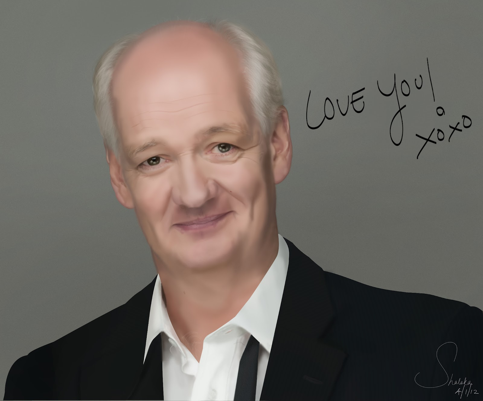 Young Colin Mochrie