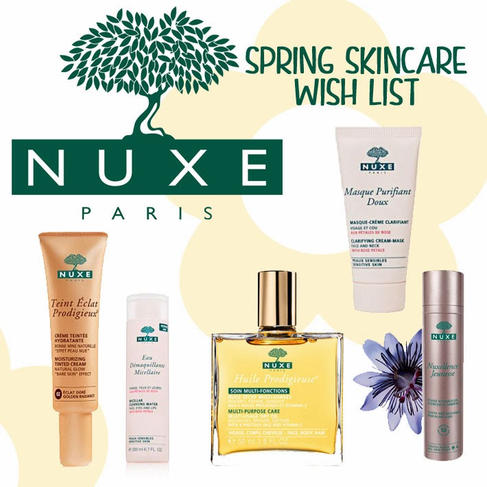 Nuxe Spring Skincare Wish List