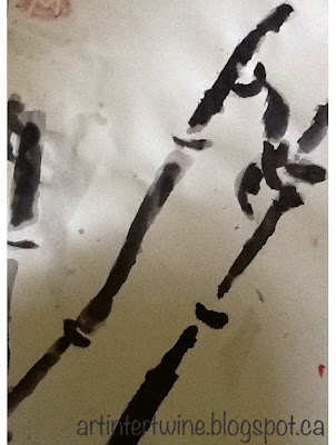 Art Intertwine - Sumi-e Bamboo Painting