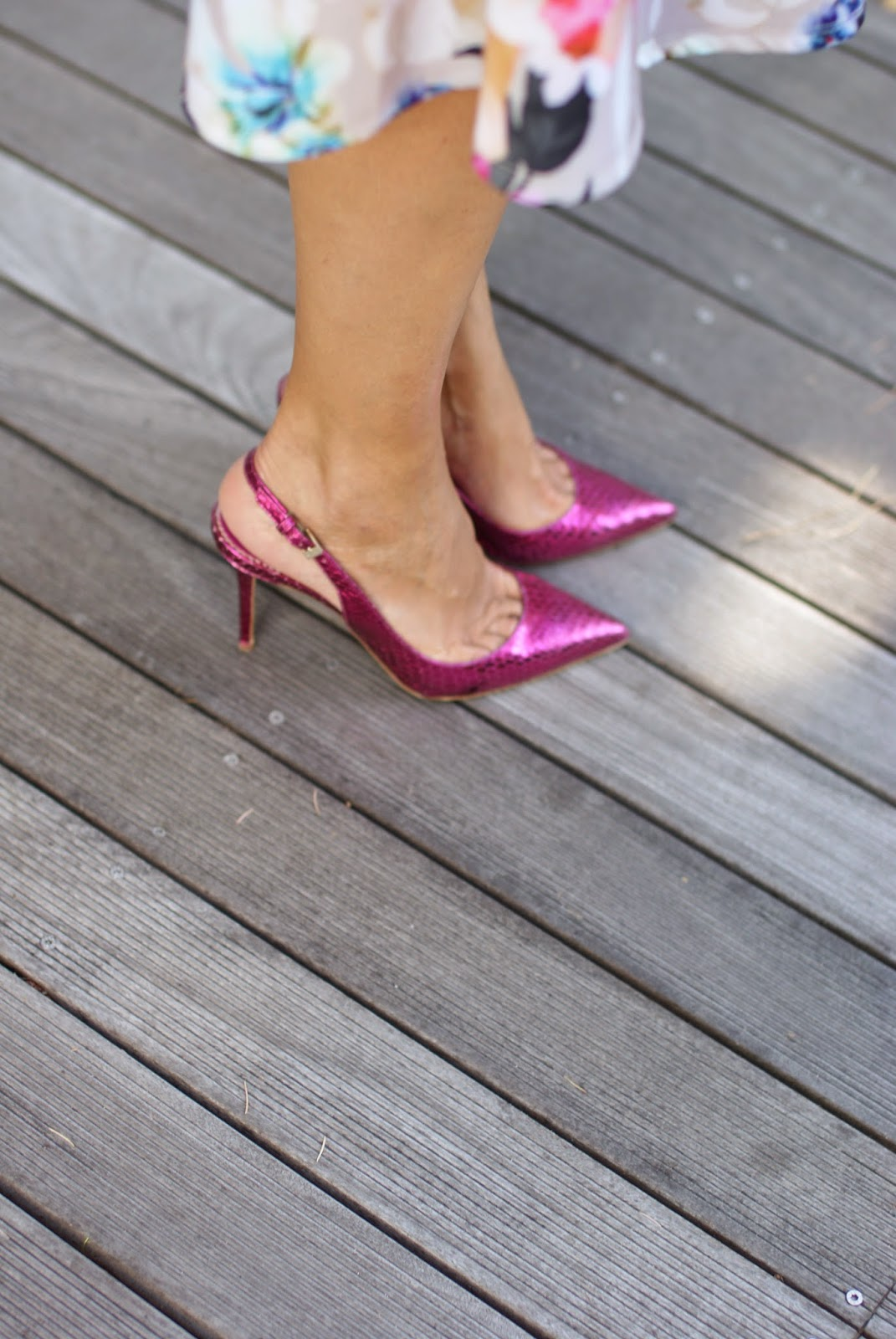 Le Silla, pink slingbacks, Fashion and Cookies, fashion blogger
