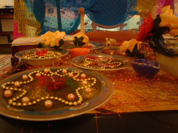 Mehndi Decoration On Eid and Marriages