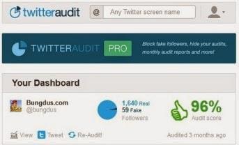 cara mengetahui jumlah followers twitter palsu